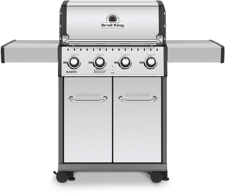 Broil King Baron 922554 Liquid Propane Grill Stainless Steel, Main Image