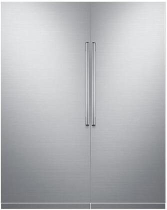 Dacor Contemporary 772369 Column Refrigerator & Freezer Set Silver Stainless Steel, main image