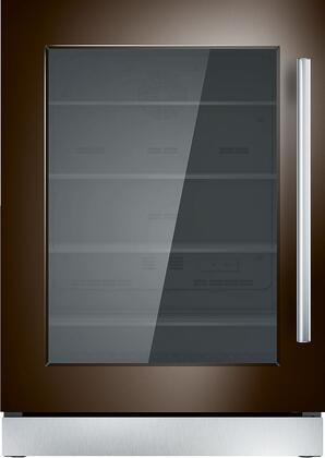 Thermador  T24UR900LP Compact Refrigerator Panel Ready, T24UR900LP 24-Inch Under-Counter Glass Door Refrigerator