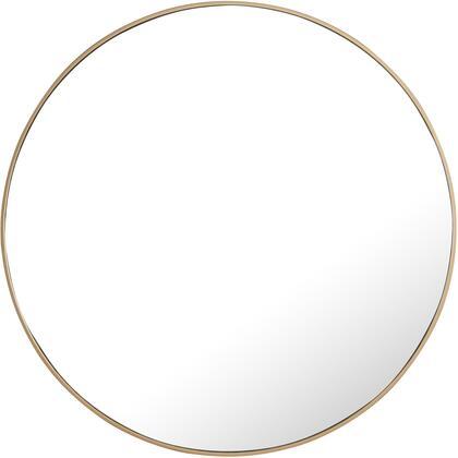MR4045BR Metal Frame Round Mirror 42″ Brass