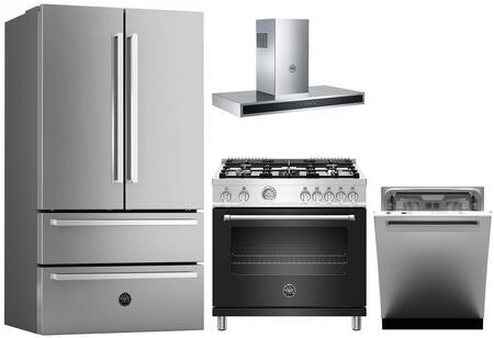 Bertazzoni 1127994 Kitchen Appliance Package & Bundle Stainless Steel, Main image