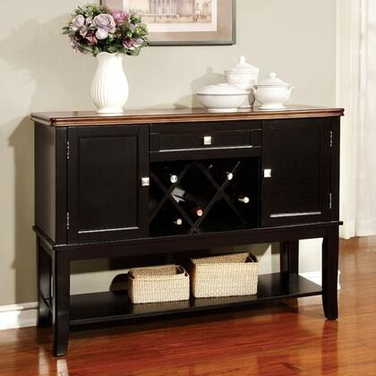 Furniture of America Dover CM3326BCSV Dining Room Buffet Multi Colored, Main Image