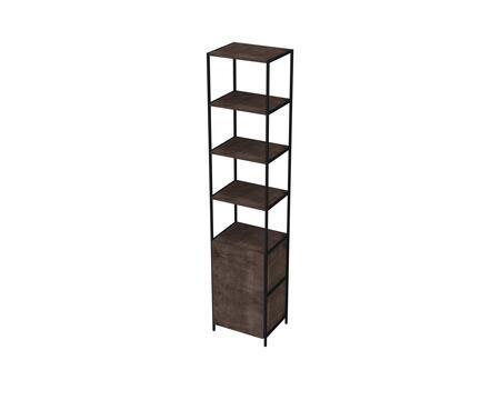 Ideaz International 27806WT Bookcase Brown, Main Image