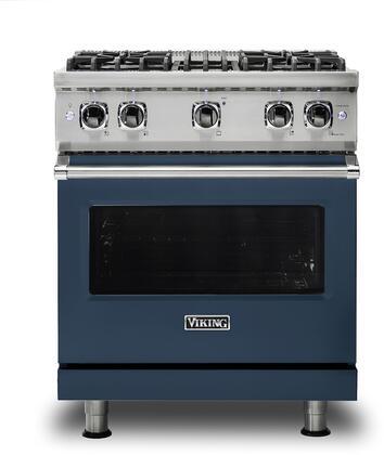 Viking 5 Series VGR5304BSB Freestanding Gas Range Blue, VGR5304BSB Gas Range