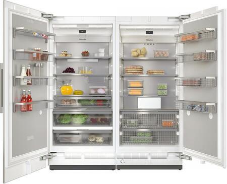 Miele  1082623 Column Refrigerator & Freezer Set Panel Ready, Min image