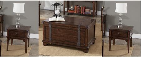 Liberty Furniture Aspen Skies 316OT3PCS Living Room Table Set Brown, Main Image