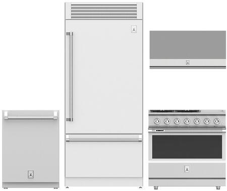 Hestan  963896 Kitchen Appliance Package Stainless Steel, 1