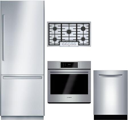 Bosch Benchmark  1052565 Kitchen Appliance Package & Bundle Stainless Steel, main image