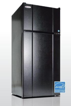 MicroFridge  103LMF4R Top Freezer Refrigerator Black, 10.3RMF4R Main Image