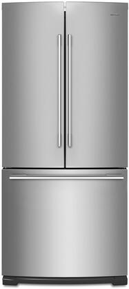 Whirlpool WRFA60SMHZ French Door Refrigerator Stainless Steel, Main View