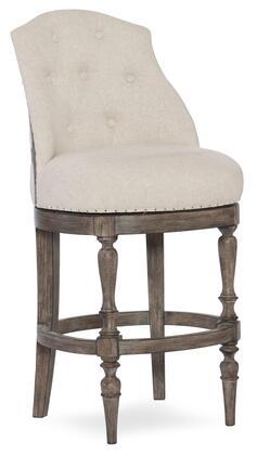 Hooker Furniture Kacey 30025044 Bar Stool Gray, Main Image