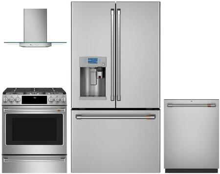 Cafe 1053102 Kitchen Appliance Package & Bundle Stainless Steel, main image