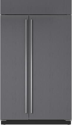 Sub-Zero BI48SO Side-By-Side Refrigerator Panel Ready, Custom Panel and Handle Not Included