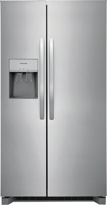 Frigidaire  FRSS2623AS Side-By-Side Refrigerator Stainless Steel, 1