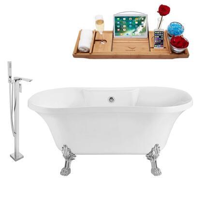 Streamline NH100CHCH140 Bath Tub, NH100CH CH 140 %201T