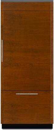 Jenn-Air JB36NXFXRE Bottom Freezer Refrigerator Panel Ready, JB36NXFXRE 36-Inch Fully Integrated Built-In Bottom Freezer Refrigerator