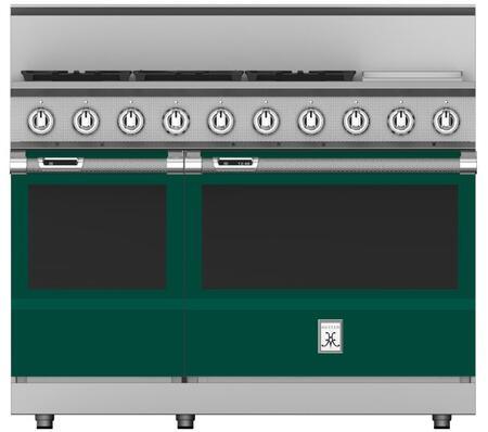Hestan KRD485GDNGGR Freestanding Dual Fuel Range Green, KRD485GDNGGR Dual Fuel Range