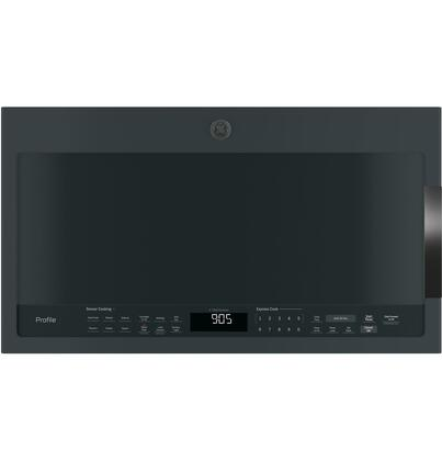 GE Profile PVM9005FMDS Over The Range Microwave Black Slate, Shown in Slate