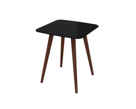 Ideaz International Lea Series 24510BL End Table Black, Main Image