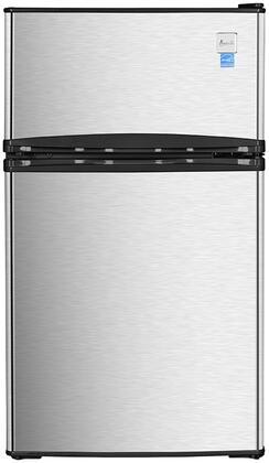 Avanti  RA31B3S Compact Refrigerator Stainless Steel, Main Image