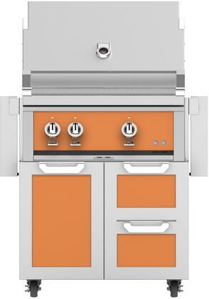 Hestan  852493 Liquid Propane Grill Orange, Main Image