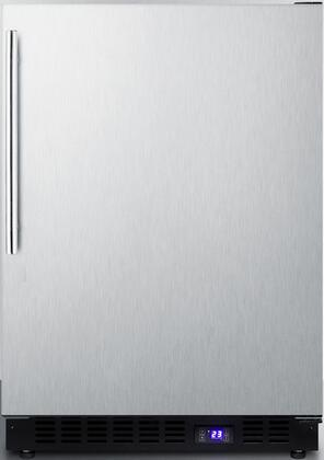 Summit SCFF53BXCSSTBIM Under Counter Upright Freezer, Stainless-Steel