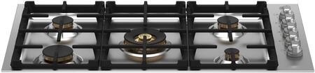 Bertazzoni Master MAST365QBXTLP Gas Cooktop Stainless Steel, MAST365QBXT Gas Cooktop