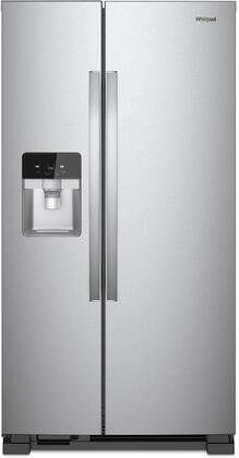 Whirlpool  WRS321SDHZ Side-By-Side Refrigerator Stainless Steel, Main Image