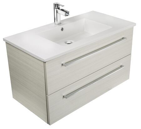 Cutler Kitchen and Bath Silhouette FVWCHOCOLATE36 Sink Vanity Beige, Main Image