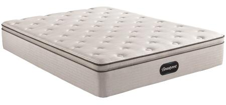 BR800 Series 700810007-1030 Full Size Plush Pillow Top Mattress with Pocketed Coils  Dualcool Technology  Gel Memory Foam Lumbar Support and Geltouch