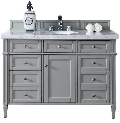 James Martin Brittany 650V48UGR2CAR Sink Vanity Gray, Main Image