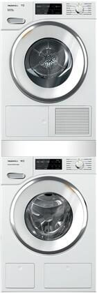 Miele 890682 Washer & Dryer Set White, Main Image