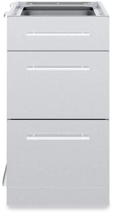 802500 3 Drawer Cabinet in Stainless