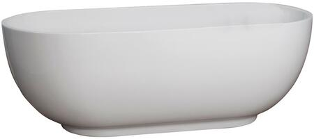 Barclay  ATOVN71FWH Bath Tub White, Main Image