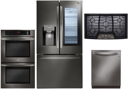 lg 4 piece kitchen appliances package with lfxs28596d 36