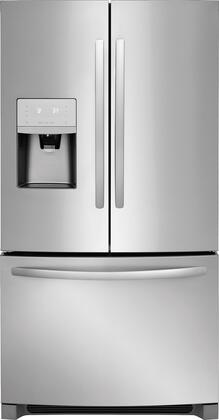 Frigidaire FFHB2750TS 36 Inch French Door Refrigerator with 26.8 cu. ft. total capacity, in Stainless Steel