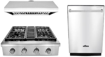 Thor Kitchen 873501 Kitchen Appliance Package & Bundle Stainless Steel, 1