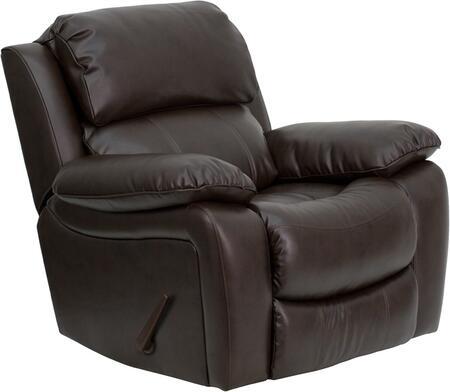Flash Furniture  MENDA343991BRNGG Recliner Chair Brown, Main Image