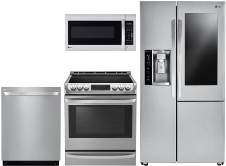 LG 1052265 Kitchen Appliance Package & Bundle Stainless Steel, main image