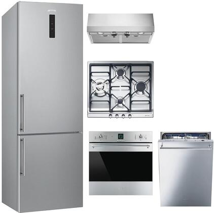 Smeg 1054401 Kitchen Appliance Package & Bundle Stainless Steel, main image