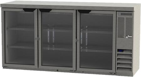 Beverage-Air  BB72HC1FGS27 Back Bar Cooler Stainless Steel, Main Image