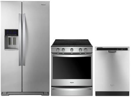Whirlpool  1009998 Kitchen Appliance Package Stainless Steel, main image