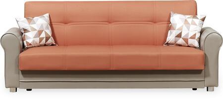Casamode Avalon Plus AVALONPLUSSOFABEDPRUSAORANGE Sofa Bed Orange, Main Image