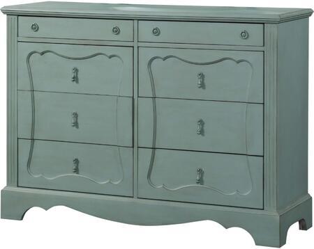 Acme Furniture Morre 30810 Dresser Blue, 1
