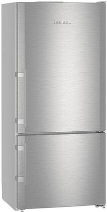 Liebherr  CS1400R Bottom Freezer Refrigerator Stainless Steel, CS1400R Front View