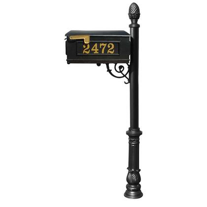 Qualarc Lewiston LMCV703BL Mailboxes, LMCV 703 BL