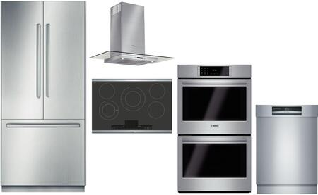 Bosch Benchmark  903304 Kitchen Appliance Package Stainless Steel, main image