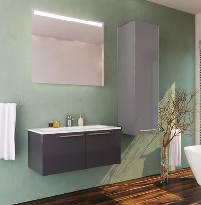 Casa Mare Aspe ASPE60GG24 Sink Vanity Gray, Main image