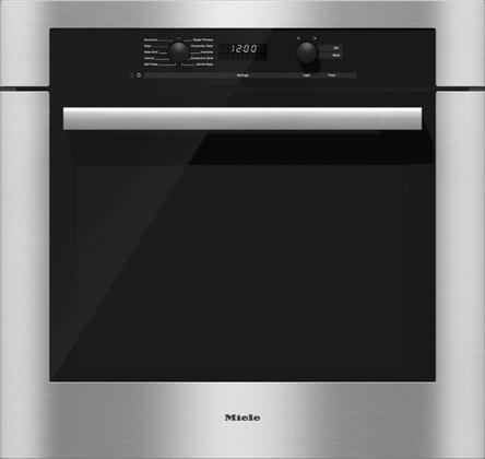 Miele DirectSelect H6180BP Single Wall Oven , Main Image