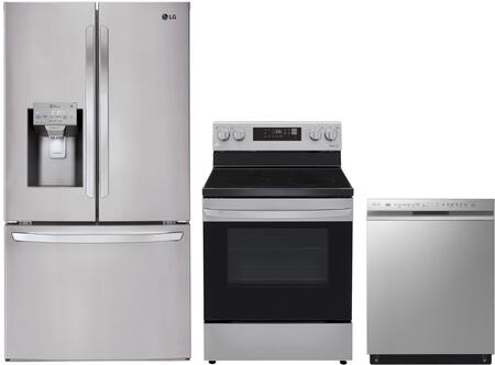 LG  1130889 Kitchen Appliance Package Stainless Steel, main image